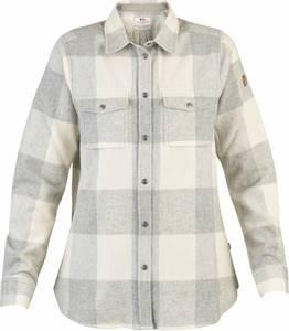 Bilde av Fjellräven Canada Shirt W Fog Chalk White